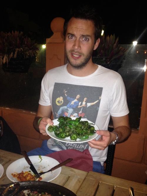 Green Pepper Plate, sir?