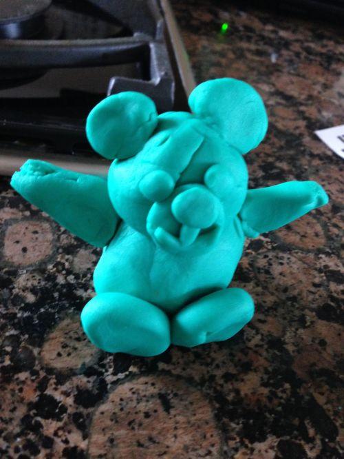 playdoh bear