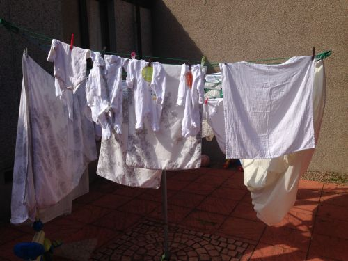 mummykimmy baby clothes on the line