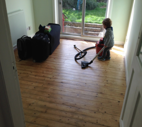 Mummykimmy sanded floors